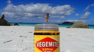 Vegemite - pålegg som smaker ganske fælt, men som visst inneholder mye vitaminer. Ernæringsstudenter LIKES!